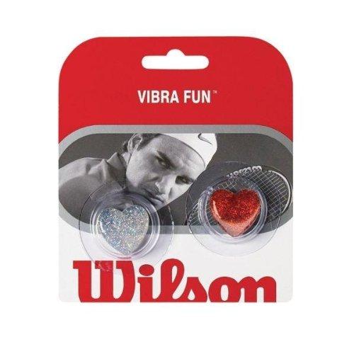 Wilson Vibra Fun Vibration Dampener (Glitter Hearts) (Wilson Vibration Dampeners)