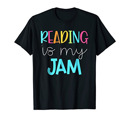 Reading is My Jam - Read Teacher Shirt - ELA Teacher Shirt (Teacher Tshirt Reading)