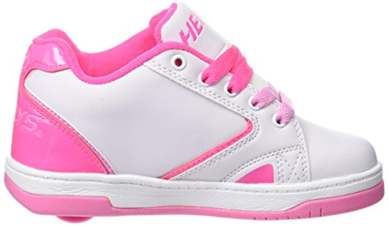 Heelys Propel 2.0 770605, Girls' Sneakers, multi (White/Hot Pink/Light Pink), 1 UK (33 EU)