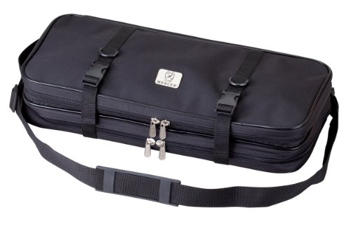 Mercer Culinary Double-Zip 17-Pocket Knife Case