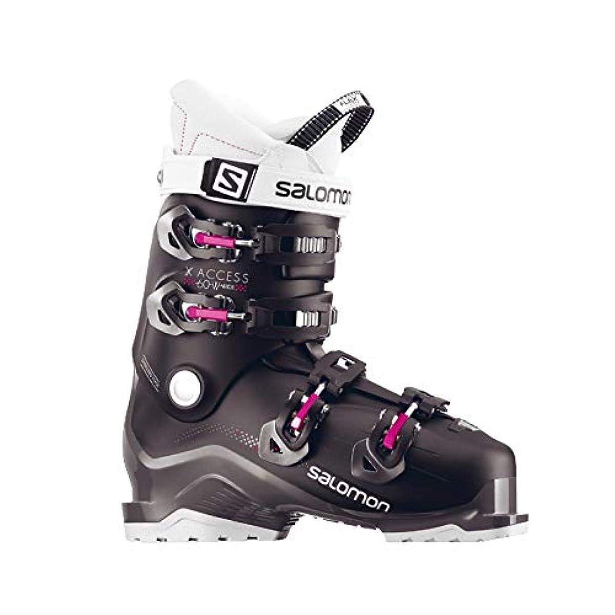 [해외] 살로몬SALOMON 스키화 X ACCESS 60 W WIDE BK/ANTHRA/P X 액세스 60 레이디스 L39947600