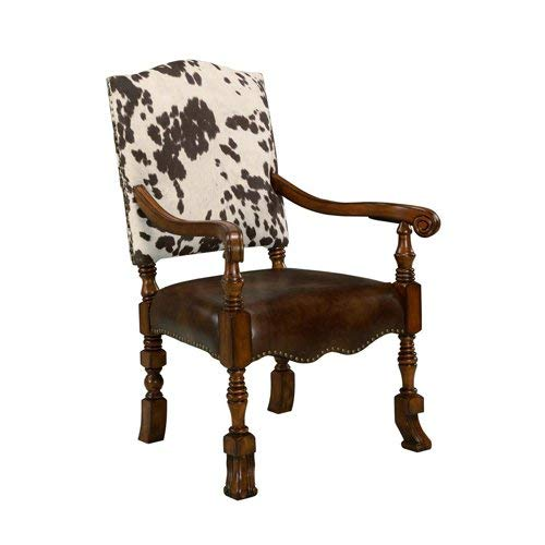 Animal Print Arm Chair - Comfort Pointe Jaxon Accent Chair 485939, Brown