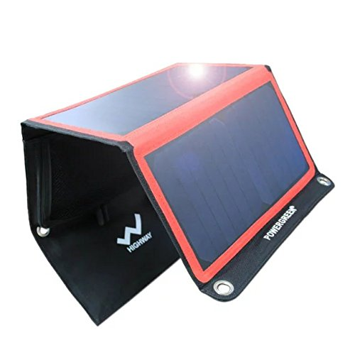 Solar-Charger-PowerGreen-21W-Portable-Foldable-Solar-Panel-with-2-USB-Ports-for-all-5V-Mobile-Devices