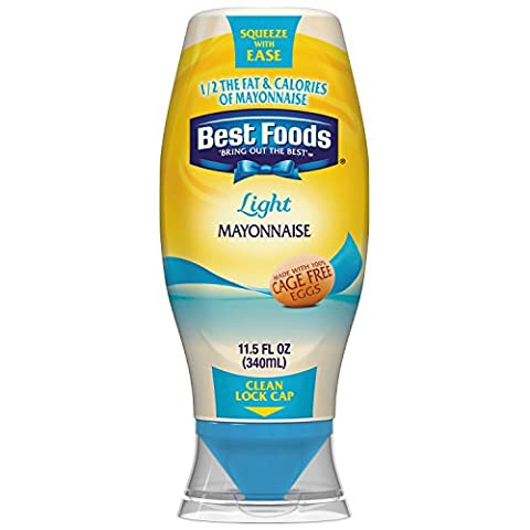 Best Foods Light Mayonnaise, Squeeze 11.5 oz - Ingredients In Mayonnaise
