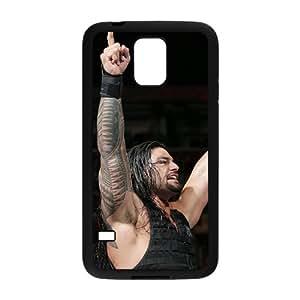 DAZHAHUI Roman Reigns Black Phone Case for Samsung Galaxy S5