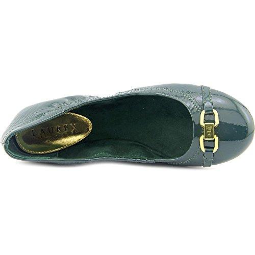 Lauren Ralph Lauren Betsy Mujer Charol Zapatos Planos Green