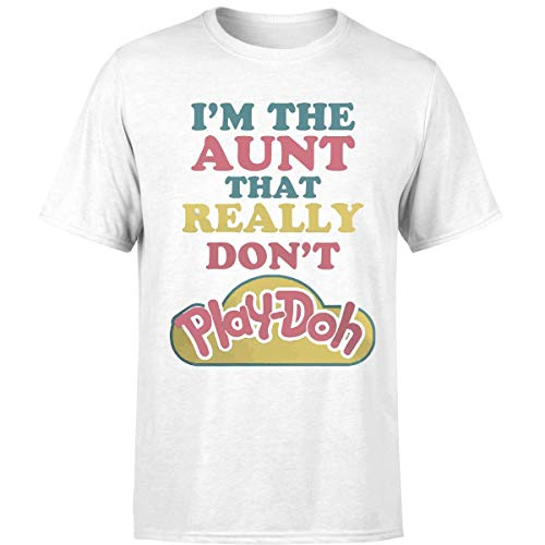 My Aunt Really Don't Play Doh T Shirts (Unisex T-Shirt/White/M) ()