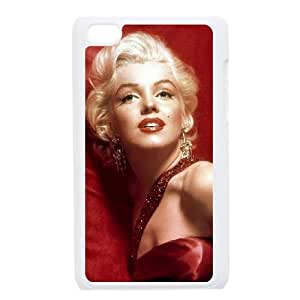 iPod Touch 4 Case White Marilyn Monroe YLL 14D Customized Case