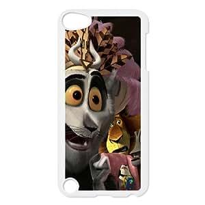 iPod Touch 5 Case White Madagascar Design Back Phone Case Cover XPDSUNTR25111