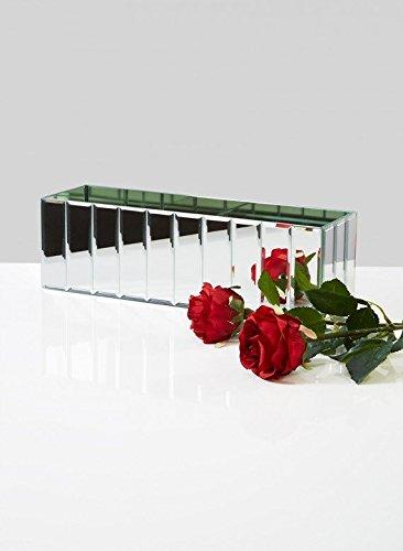 Amazon Oblong Gatsby Mirror Vase Home Kitchen
