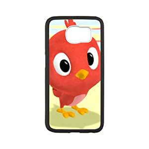 Samsung Galaxy S6 Cell Phone Case White Mickey Mouse Clubhouse Character Baby Red Bird xgr