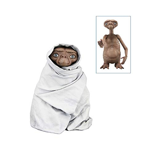 "NECA - E.T. the Extra-Terrestrial - 7"" scale action figure series 2 - Night Flight E.T."