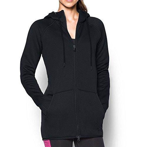 Under Armour Women's Storm Armour Fleece Long Full Zip, Black (001), Small