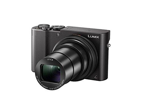 Panasonic ZS100 LUMIX 4K Digital Camera 20 Megapixel Sensor Black, Panasonic DMW-ZSTRV Lumix Battery & External Charger Travel Pack, 64GB Memory Card, Flash, Case, Cleaning Kit & Accessory Bundle