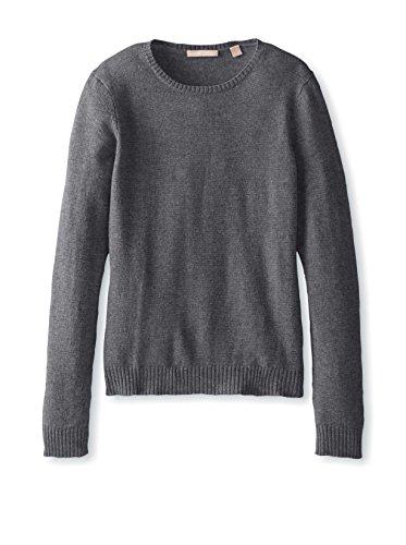 Cashmere Addiction Womens Crew Neck Sweater