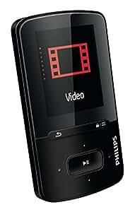 Philips SA4VBE08KF/12 - Reproductor MP4, (pantalla 1.8 pulgadas, 8 GB, radio FM)