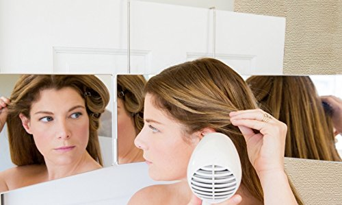 Mirror to see the sides and back of your head for styling, cutting, coloring or grooming