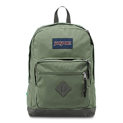 JanSport City Scout Laptop Backpack – Muted Green For Sale