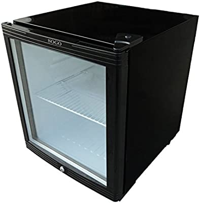 Sogo NEV-SS-155 - Nevera mini bar con puerta de cristal: Amazon.es ...