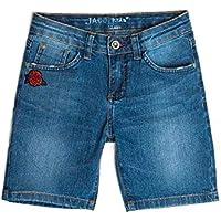 Bermuda Jeans Infantil Feminino Stone
