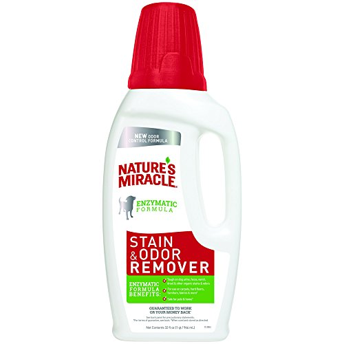 Nature's Miracle Dog Stain and Odor Remover, New Odor Control Fomula