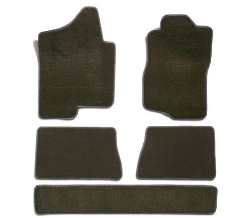 Premier Custom Fit 5-piece Set Carpet Floor Mats for Toyota Sienna (Premium Nylon, Driftwood) (Floors Wood Sienna)