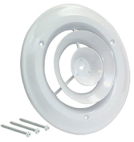 EZ FLO 61624 Round Ceiling Diffuser