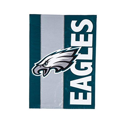 Team Sports America Philadelphia Eagles Embellish Garden Flag, Multicolor (Philadelphia Eagles Flag Garden)
