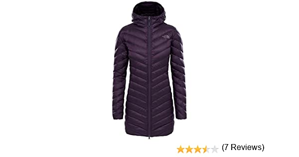 The North Face Trevail Parka, Chaqueta Parka para Mujer, Morado (Dark Eggplant Purple), S: Amazon.es: Deportes y aire libre
