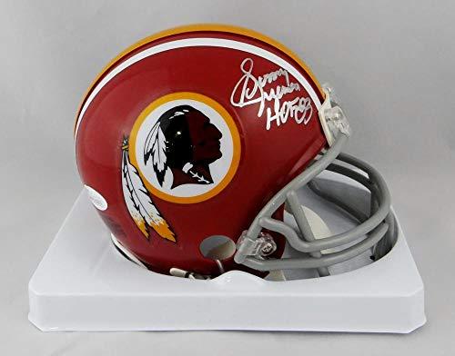 Sonny Jurgensen Signed Washington Redskins TB 72-77 Mini Helmet HOF-JSA Silver