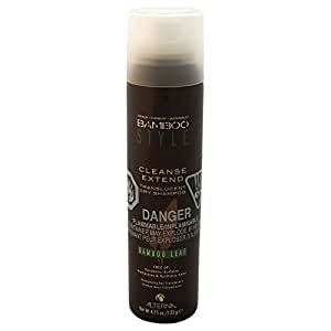 Bamboo Style Cleanse Extend Translucent Dry Shampoo by Alterna for Unisex - 4.75 oz Shampoo