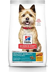 Hill's Science Diet Adult Healthy Mobility Small Bites Dry Dog Food, Chicken Meal, Brown Rice & Barley Recipe, 4 lb Bag