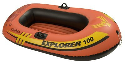 Intex Recreation 58329EP Explorer 100 1-Person Boat, 58 x 33-In. - Quantity 1