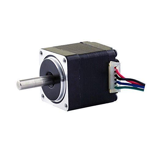 Mini Stepper Motor Nema11 Bipolar 3.8V 0.67A 8.5oz-in/6Ncm DIY Robot CNC (No Single keyed - Shaft Single
