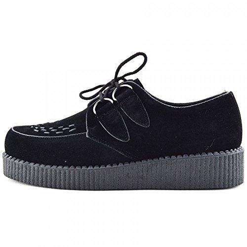 Mens Enredaderas De La Moda Negro Pisos Vestido Formal De Zapatos Negro