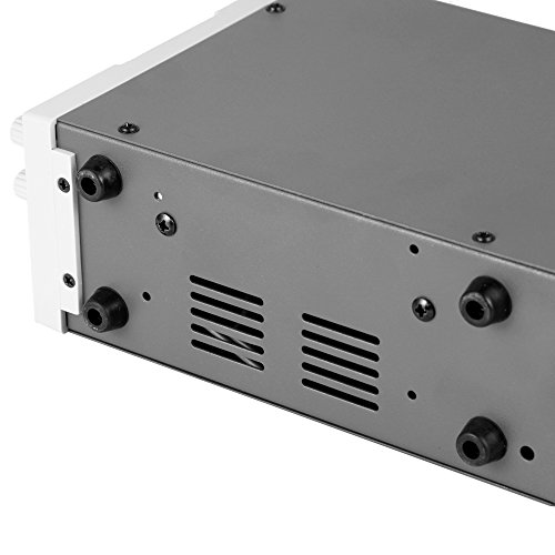Haitronic HPS605D, adjustable switching DC Power Supply, precise variable DC 0~60V @ 0~5A OUTPUT, 3 Digital Display with Alligator Cable and Power Cord by Haitronic (Image #4)
