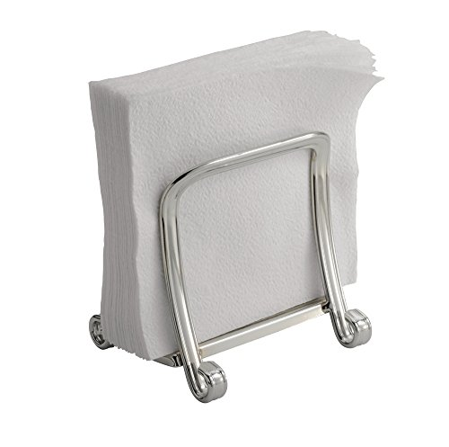 mDesign Paper Napkin Holder for Kitchen, Table or Countertop