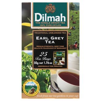 Dilmah Earl Grey Tea Bags 50g 25 Pcs