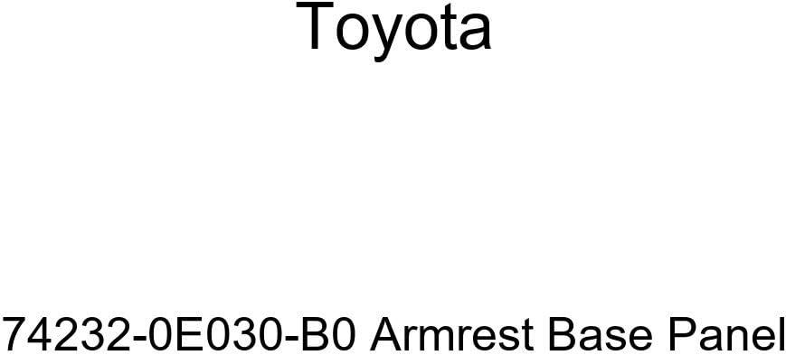 TOYOTA Genuine 74232-0E030-B0 Armrest Base Panel