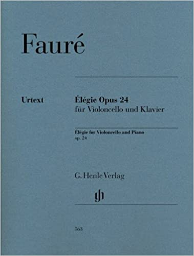 Google livres pour le téléchargement Android Elégie Opus 24 --- Violoncelle / Piano B00BN53U4O PDF