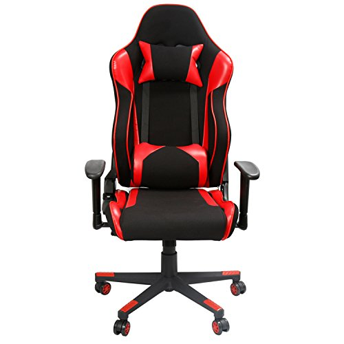 EAMBRITE Racing Gaming Chair Ergonomic High Back Computer Chair PU Leather  Video Game Chair Including