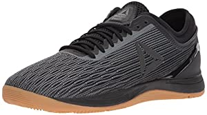 Reebok Men's CROSSFIT Nano 8.0 Flexweave Cross Trainer, Black/Alloy/Gum, 12 M US