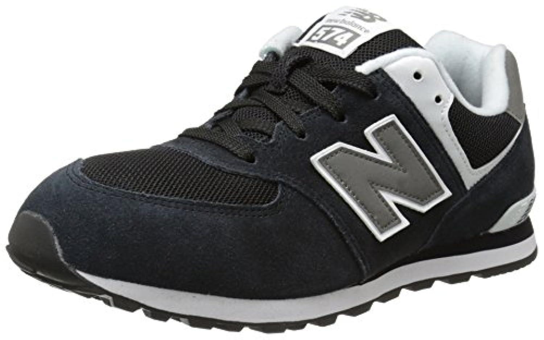 New Balance Unisex Kids KL574NWG-574 Hi-Top Sneakers, Multicolor (Navy/White 414), 3 UK 35 1/2 EU