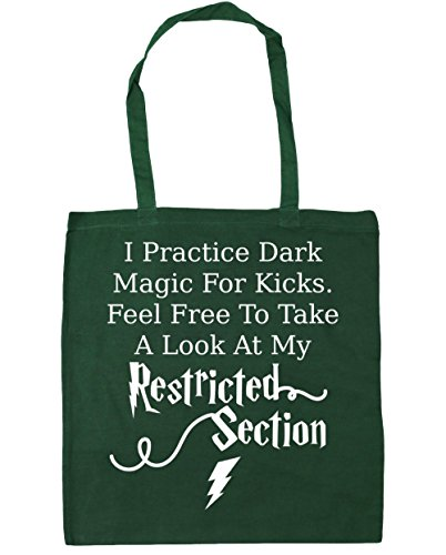 Gym Bottle Free Dark Feel Green Look At Kicks 10 litres x38cm Shopping Bag Magic To Beach 42cm I Tote Practice HippoWarehouse Restricted My A For Section Take 0qU40