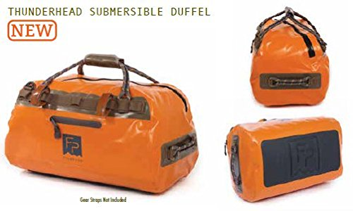 Fishpond Thunderhead Submersible Duffel, Orange (21 x 12.5 x 11 Inches)