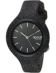 Rip Curl Womens Aurora Quartz Plastic and Polyurethane Sport Watch, Color:Black (Model: A2975G-NVA)