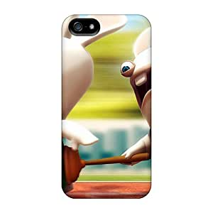 CELxFFW983aYZmm Tpu Phone Case With Fashionable Look For Iphone 5/5s - Bunny Relay