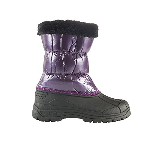 Horze Sedona Childs Snow Boots Mysterioso Purple Childs 2