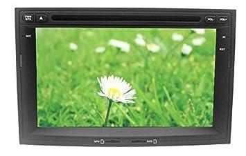 LIKECAR Android 4.4 multimedia GPS navegador con HD LCD coche navegador GPS con pantalla táctil del
