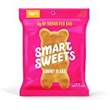 SMART SWEETS Low Sugar Gummy Bears Candy Fruity, Free of Sugar Alcohols & No Artificial Sweeteners Sweetened with Stevia, Natural Fruit Flavors, 1.8 Oz, Box of 6, 1 Count